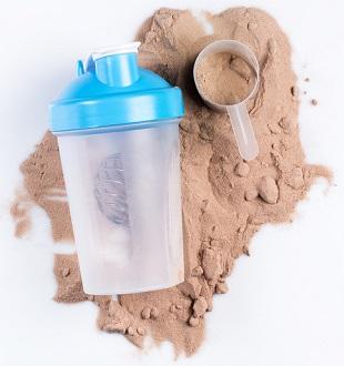 Ett proteinpulver