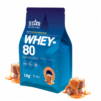 Star nutrition whey 80 bäst i test
